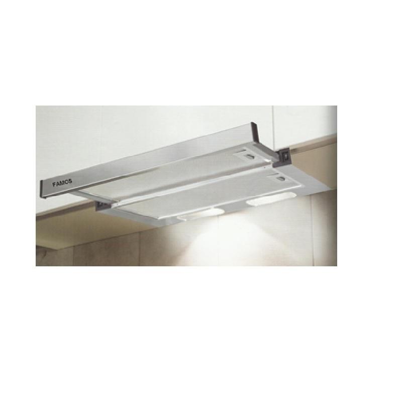Famos Cooker hood Stainless Steel 60 cm Telescopic