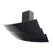 Famos Cooker hood Black Glass 90 cm