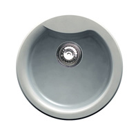 Rounded One-Bowl Sink